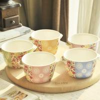 Interaural ceramic big round bowl rice bowl soup bowl excellent . small 3 measurement . oven