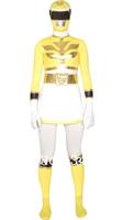 Yellow And White Power Ranger Costume