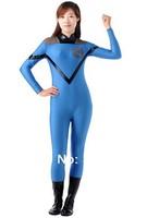 Invisible Woman Susan Storm Richards Lycra Super Hero Costume