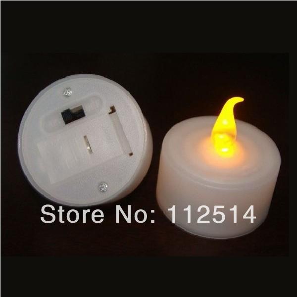 Battery operated flameless LED decoration candle wedding/birthday/party/christmas candle(China (Mainland))