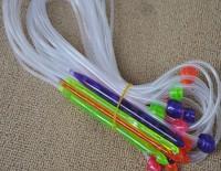 1.2m Length 12 Sizes Afghan Plastic  Needle Tunisia Blanket Crochet Hooks