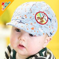 Newborn baby hat male child baseball cap female child cap baby spring and autumn child hat