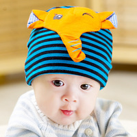 Spring and autumn baby tire cap newborn baby cotton 100% male female child child hat 3d