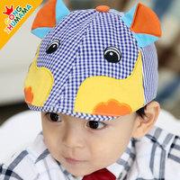 Child hat male child baseball cap female child cap baby spring and autumn beret 3d circleof
