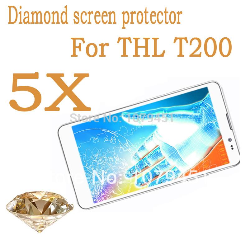 Защитная пленка для мобильных телефонов 5pcs THL T200 6.0 mtk6592, THL T200 thl 4400 в калининграде