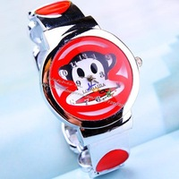 women's  monkey bracelet dress quartz watches new in 2014 watches for women girl gifts wristwatcheswatch