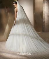Strengthen soft net three meters lengthen veil