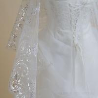 Focus juese meihekoushi . deluxe ultra long bridal veil lace wedding light flash veil