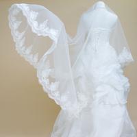 Single tier veil wedding dress veil the wedding veil exquisite single tier veil