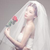 Dora trueing . wind brief short design bride veil