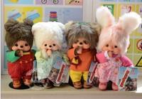 monchhichi genuine friends Qiqi Japan Series dressing lamb, bear, bunny, egg set 4