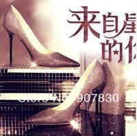 Free shipping 2014 thin heels single shoes 3067 - 6