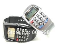 Free ship, Digital Children  Boy & Girl Student  Kid Wrist LED 8 Digit  Watch Calculator Watches For examination & business