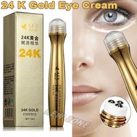 (Min Order 10$) 24K Gold Essence Repair Eye Ball cream anti aging dark circle wrinkles moisturizing gold activate eye cream 10ML