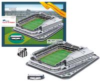 2014 Brazil World Cup DIY 3D Puzzle New Ulbaocardia Caldeira Stadium Vila Belmiro Santos Futebol Clube Field Jigsaws105 pc's/Set