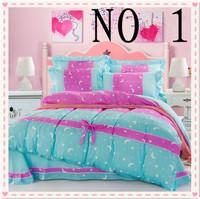 Free shipping! Hot Sale Korean textile cotton lace flounced cotton bedding set family of four active quilt / pillow / sheets