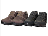 Hot ! Winter genuine male cotton-padded shoes , men's fashion business casual warm thick padded non-slip comfort