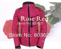 2014 new brand hot sale Women winter top outdoor WINDSTOPPER waterproof Soft shell jacket coats  093 Red, black,green,white,blue