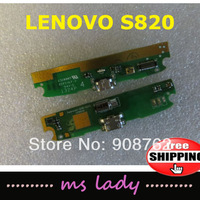 Lenovo S820 New charge plug for s820 original authentic board usb Free shipping Airmail + tracking code