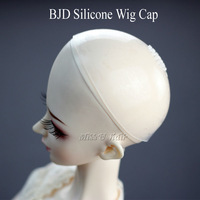 1/3 1/4 1/6 BJD silicone wig cap for luts DD DOD SD MSD Doll Dollfie bjd accessory