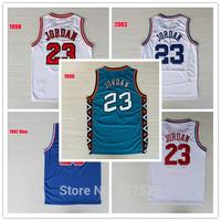 Chicago #23 Michael Jordan ALL STAR Basketball Jersey, 1992 White & Blue, 1996 Green, 1998 & 2003 White, Cheap Sport Jersey