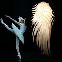 Lanting tord artecnica icarus feather pendant light romantic light restaurant