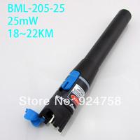 18~22km,25mw,red fiber optical test pen , fiber optical laser visual fault locator,fiber optic cable tester,fiber laser pointer