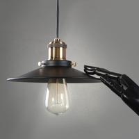 Pendant light american rh loft vintage small led pendant light h