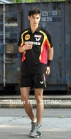 Wholesale New arrival German table tennis team competition uniforms men's short-sleeved suit SB47168