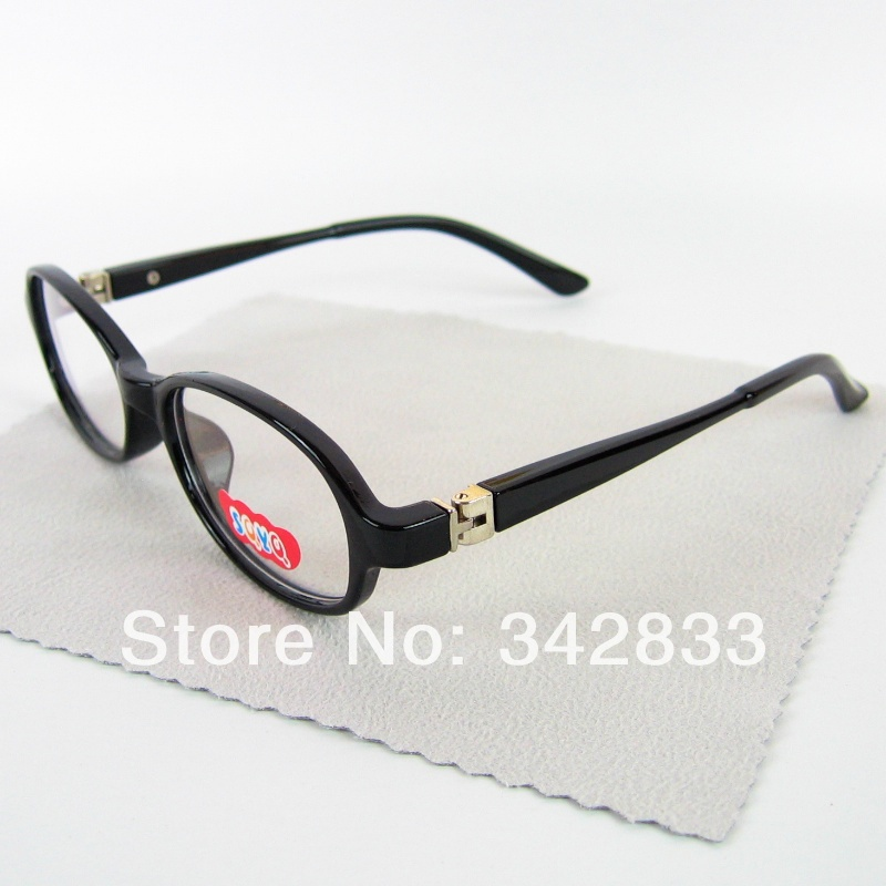 Wholesale Children Myopia Optical Glasses For 5 To 15 Years Old Kids Oval PC And Metal Frame Spring Hinge Size 43 18 125(China (Mainland))