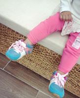 2014 spring small fresh peach pink elastic skinny casual pants female children skinny pants