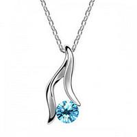 Crystal accessories fashion pendant austria crystal necklace  crystal accessories