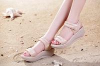 New design fashion summer platform women sandal by factory EU 35-39
