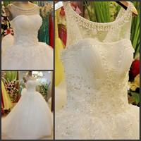 2013 wedding bandage tube top train wedding dress bride xj66559