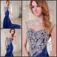 Ultimate luxury crystal formal dress formal dress toast the bride married formal dress evening dress xj0862