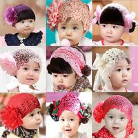 New 2014 Baby wig headband children accessories spring designs