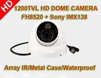 1200TVL Sony IMX138 CMOS+ FH8520 DSP Array IR IR-CUT Night Vision Waterproof Surveillance Security Video CCTV Dome Camera