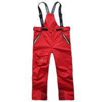 2015 Ski Pants Men Outdoor Pants Moletom Mammoth Hiking Oort Trousers Child Windproof Thermal Thickening Fleece Twinset Skiing