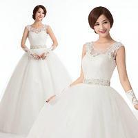 Free Shipping 2014 New Arrival Bridal Wedding Dress,Wedding Gown W0090