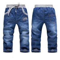 Spring Autumn 2014 new jean boy children's clothing boys wild baby jeans children trousers leisure pants boy
