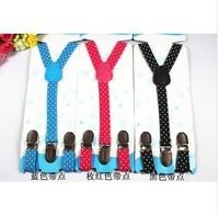 New Children Adjustable solid Suspenders baby Elasti Braces Kid Suspenders,Size 1.5*70CM,17colors,100pcs/lot,Free Shipping