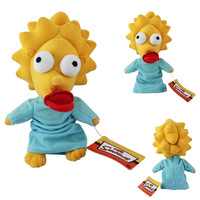 Free Shipping New 2014 Maggie Simpsons Plush Doll Toy 24cm Tall Toys for Children Gift