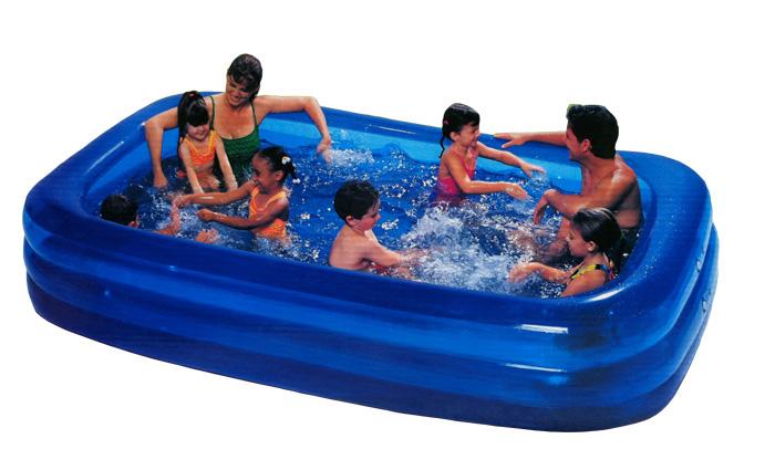 Ultralarge thickening child rectangle inflatable swimming pool large adult swimming pool Large pool ball pool(China (Mainland))