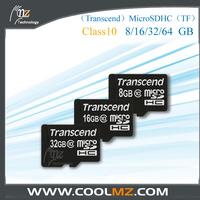 Transcend MicroSDHC TFClass10 8GB/16GB/32GB/ 64GB