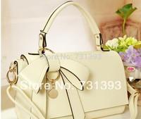 Bowknot Style Handbags Women Sweet Candy Bow Totes Sholder bags Messenger Women handbags 204
