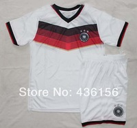 2014 world cup Germany Home Kits soccer jersey A+++ Thailand Quality Germany White Kit jerseys Size S-XL Free shipping
