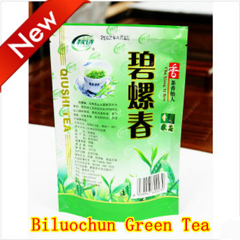 Free Shipping! Only Today2014 Fresh Biluochun Tea, First Spring Green tea, Peach Flavour Bi Luo Chun green tea 50g +Secret Gift(China (Mainland))
