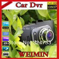"GS8000L Car DVR 1080P+1920*1080+2.7""+ 4 IR Lights + Wide Angle 140 Degrees car video recorder,H2.64,Car Black Box,GS8000 Camera"