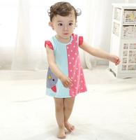 2013 infant baby girls lace dresses children clothing for autumn -summer kids princess flower tutu dress 4color pink cake dress