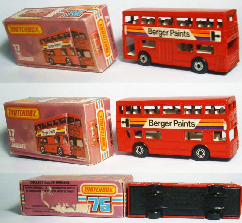Color box matches box matchbox mb 017 london bus bag(China (Mainland))